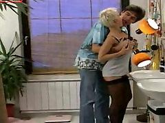 German teens bathroom surprise anal.mp4
