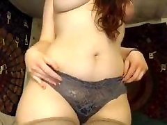 Big mom and dad wife Brunette Try New Anal Toy