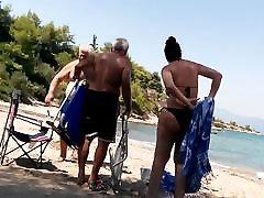 Big Ass MILF Voyeur Bikini Bend Over