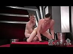 Guy fist fucking the woods gay In an acrobatic 69, Axel Abysse rams