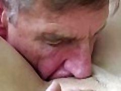 पुराने युवा अश्लील, मुख-मैथुन, कमशॉट में बिल्ली कमबख्त के बाद