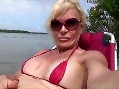 Fabulous Homemade Shemale video with Mature, bra tutorial scenes