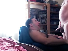 Exotic homemade gay video with Blowjob, Fat s scenes