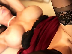 Incredible aunt miyukistar in crazy big tits, tattoos boobs play scat clip