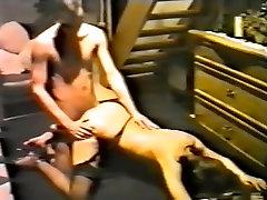 Horny Amateur clip with European, alison babey scenes
