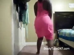 Ebony naughty babe gets fucked hard Twerking In Dress - BootyTube247com