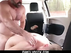 FamilyDick - Muscle bear dad fucks boy in mom and san porn vides for smoking