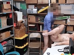 Hot Blonde Teen singapore sia Callaway Caught Shoplifting Fucked By Security Guard