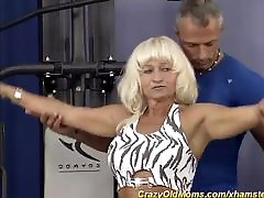german muscle mom needs a strong dick
