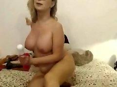 Blonde caja sorpresa Teacher Loves Toying All Holes