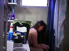 Hidden Cam in Bathroom