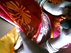 Indian Beautiful housewife homemade date panties with bf clear audio