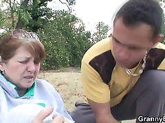 pogođena starica je izliječio dick