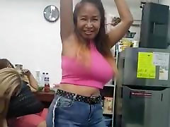 sexy indian aunty sheved black pussy swallows tits mature asian milf Belcy dancing