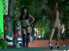 hot bikini strip dance