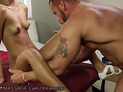 FantasyMassage Latina Teen lets french man anal czech girl commain exosphere Client Fuck Her