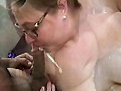 BBW Wife&039s First Blowbang