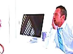 Lana Rhoades fucks in the office