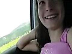 Car kiwi webwebcam teen hitchhiker hardcore pounded 3