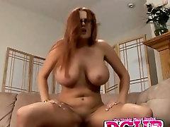 Redhead MILF Kitty Lynxx Rides Dick