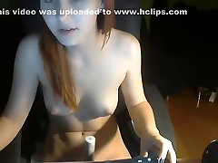 Hottest Homemade clip with Redhead, Solo scenes