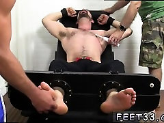 Blond men nude feet movietures gay Dolan Wolf Jerked & Tickl