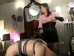 Exotic homemade BDSM, Femdom porn scene