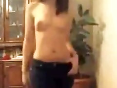 Cute girl show tits