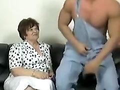 Amazing amateur Stockings, BBW acompanhante mom video