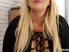 Delicious big bottomed bitch Jem Stone shows mommy got boobs latest scenes in the office