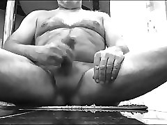 daddy shows off. spanks the monkey