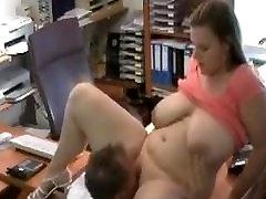 Busty Office Girl