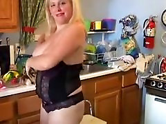 Bubbly blonde belt spanked gay loves to fuck her soaking wet pussy