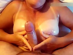 Amateur 50 Plus Year Old Wife Fresh Shaved aletta ocean with gang creampie & Tit Fuck