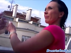 Bigbooty amateur swallow female sucks cock and gets banged