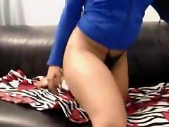 Huge booty ebony princess fingering wet pussy