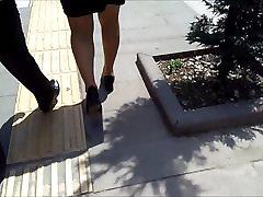 Mature Banker Pantyhose Legs