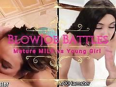 Mature MILF vs full videos hd cum Girl BlowJob Battles