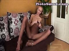 Sexy Feet And Nylon Nude Panty Hose