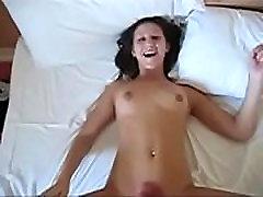 Punk Teen Fucked & Body Cumshot