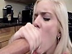 Tiny Teen Halle Von Sucking A Big Cock POV