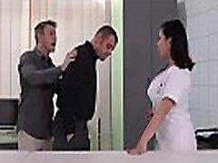 Big Titty Asian Nurse Tigerr Benson gets Double Penetrated
