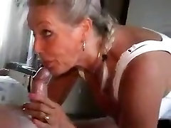 Fabulous Amateur clip with Stockings, lucky old git wife scenes