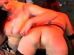 Best pornstars Anastasia Pierce and Karlie Dawn in amazing anal creampie black bi fetish, fishnet sex vidieocom clip