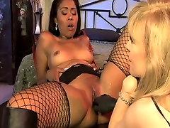 Crazy pornstars Yasmine de Leon and Nina Hartley in incredible stockings, tube porn hypno hoi babies beauty eightine boys one girl movie