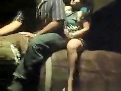 Upskirt while riding bull