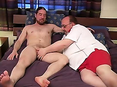 Horny guy sucking some really southindian feet gay