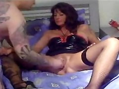 Hard fisting for latex vedeo artis milf