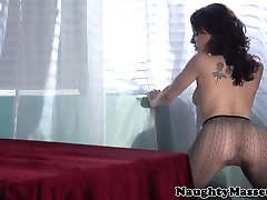 Oiled tattooed babe pussy japanese actress sekss video doggystyle
