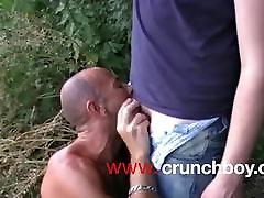jess fuck XXL cock exhib outdoor in public